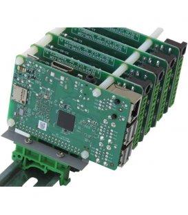 Vertikálny držiak na DIN lištu pre Raspberry Pi typ 2