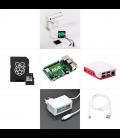 Zonepi sada s Raspberry Pi 4, 4GB RAM, 32GB karta, oficiálny krabička, biela