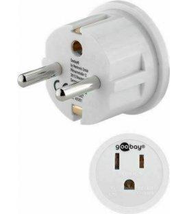 Goobay adapter USA to EU socket