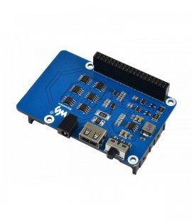 Zdroj neprerušiteľného napájania HAT pre Raspberry Pi, stabilný 5V výkon