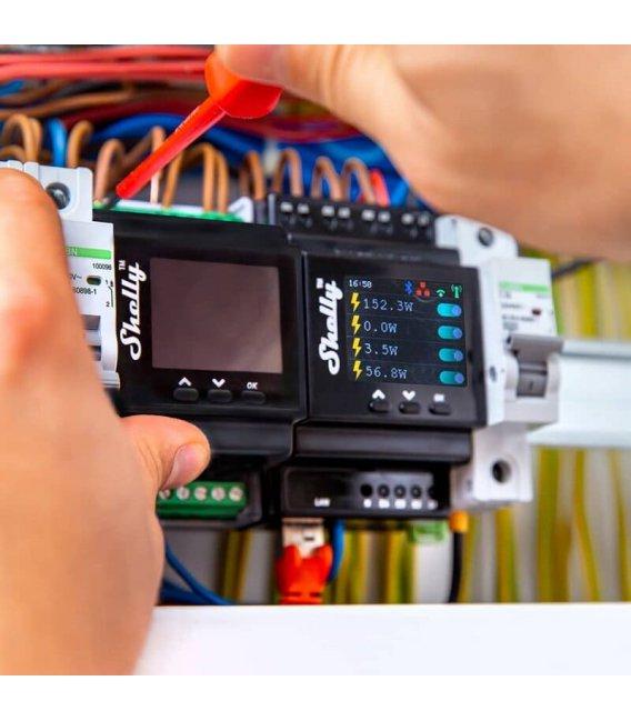 Shelly Pro 4PM - spínací modul na DIN lištu 4x 16A (WiFi)
