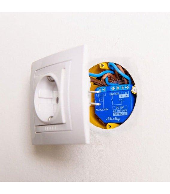 Shelly Plus 1 - relay switch 1x 16A (WiFi, Bluetooth)