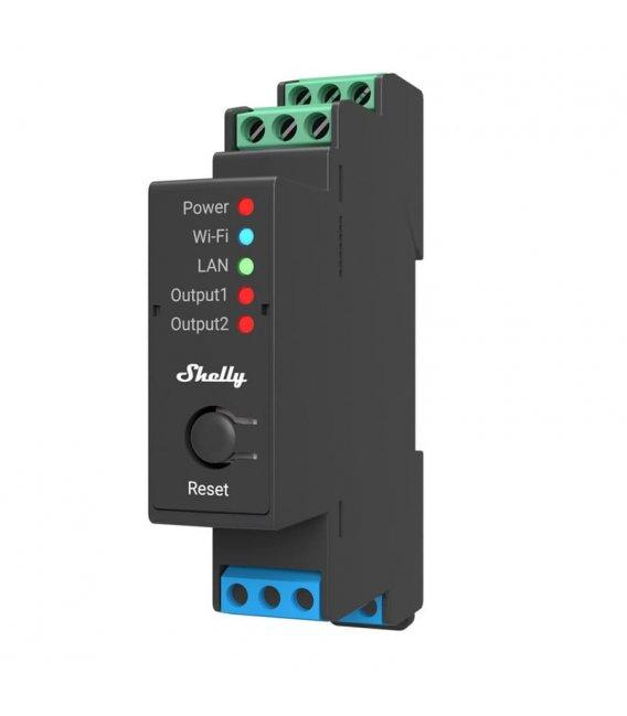 Shelly Pro 2 - relay switch 2x 16A (LAN, WiFi, Bluetooth)