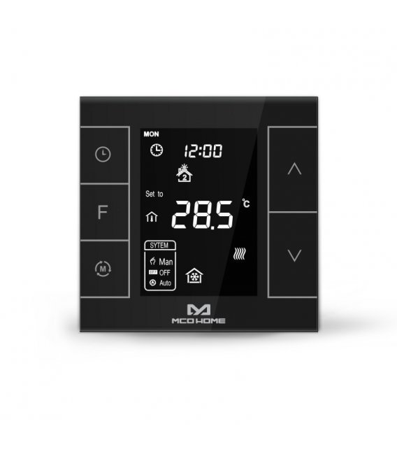 MCO Home Water Heating Thermostat Version 2 (MH7H-WH), Black