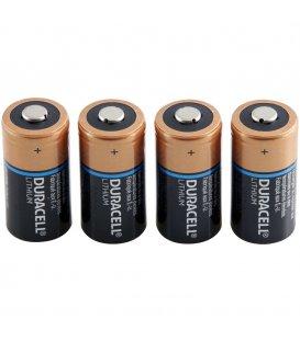 Lithium battery DURACELL CR123A 3V, 4 pcs for Danalock V3