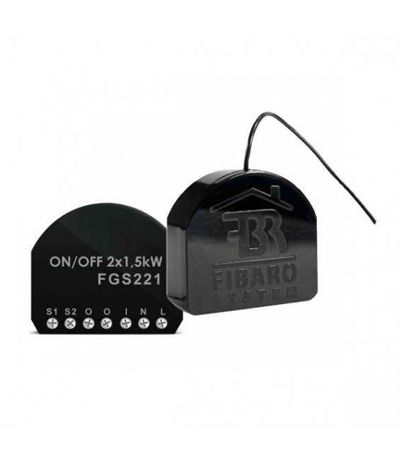 Fibaro Relay Switch 2x1,5kW (FGS-222)