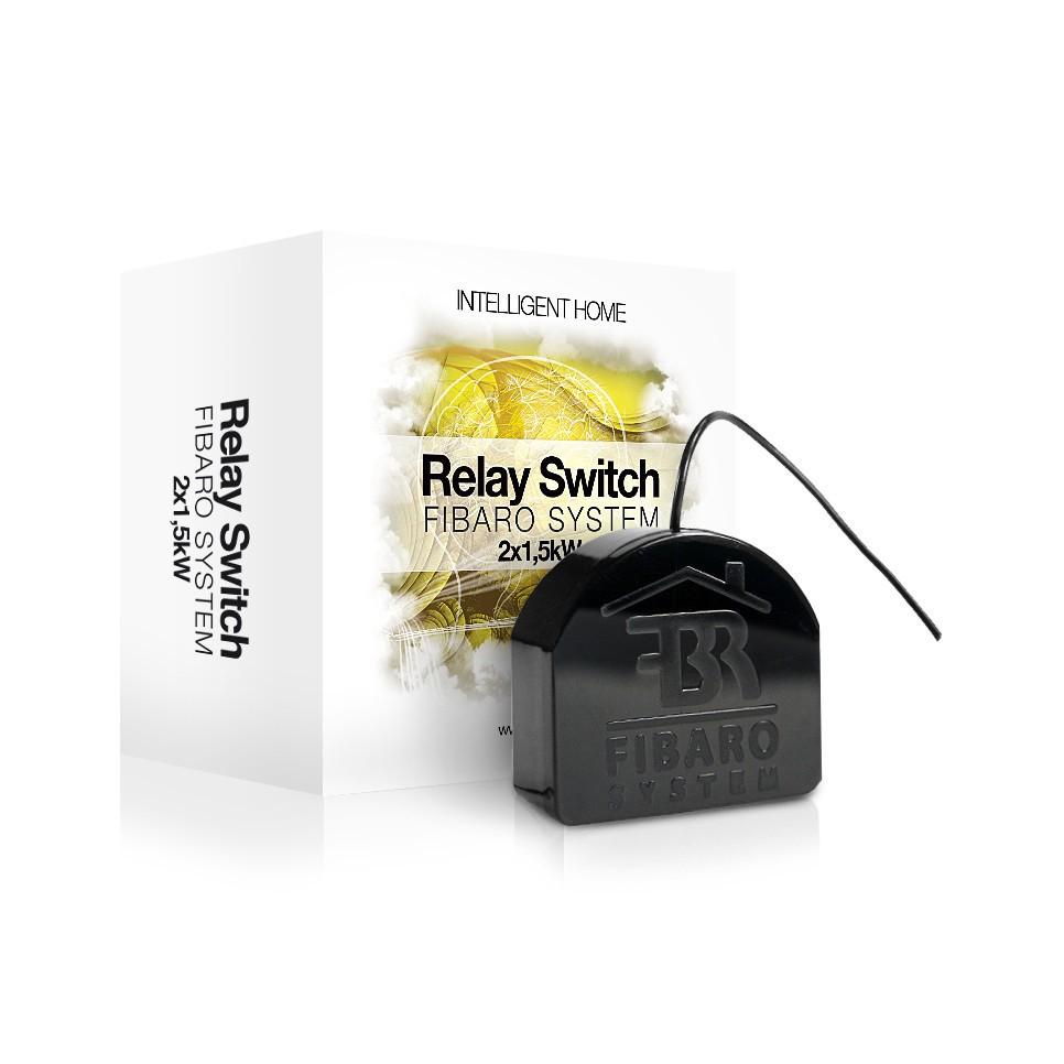 Fibaro Relay Switch 2x1,5kW (FGS-222)
