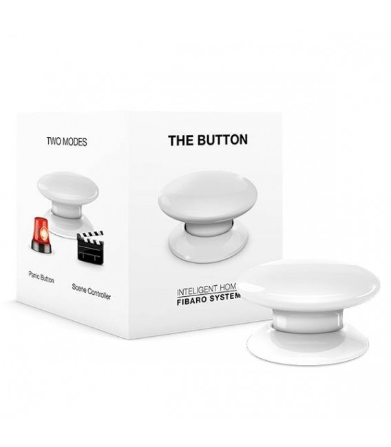 Fibaro Button - Biele