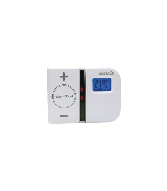 Secure Thermostat with Time Control