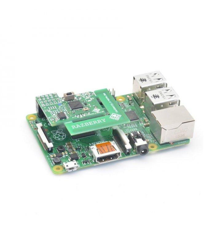 Z-Wave Me RaZberry 2 & Raspberry Pi 3 model B+ Set - Low