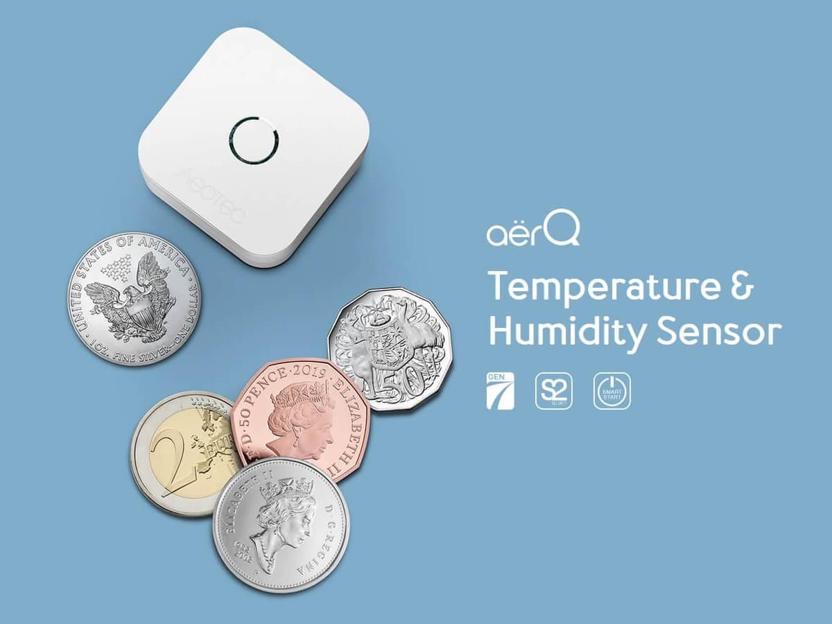 Aeotec aërQ Temperature & Humidity Sensor