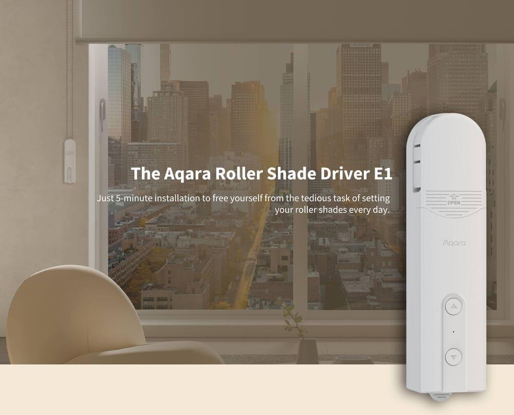 Aqara Roller Shade Driver E1