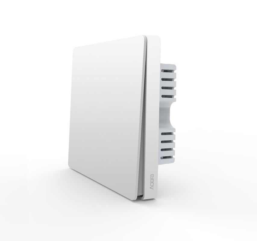 AQARA Smart Wall Switch H1 EU (No Neutral, Single Rocker) (WS-EUK01)