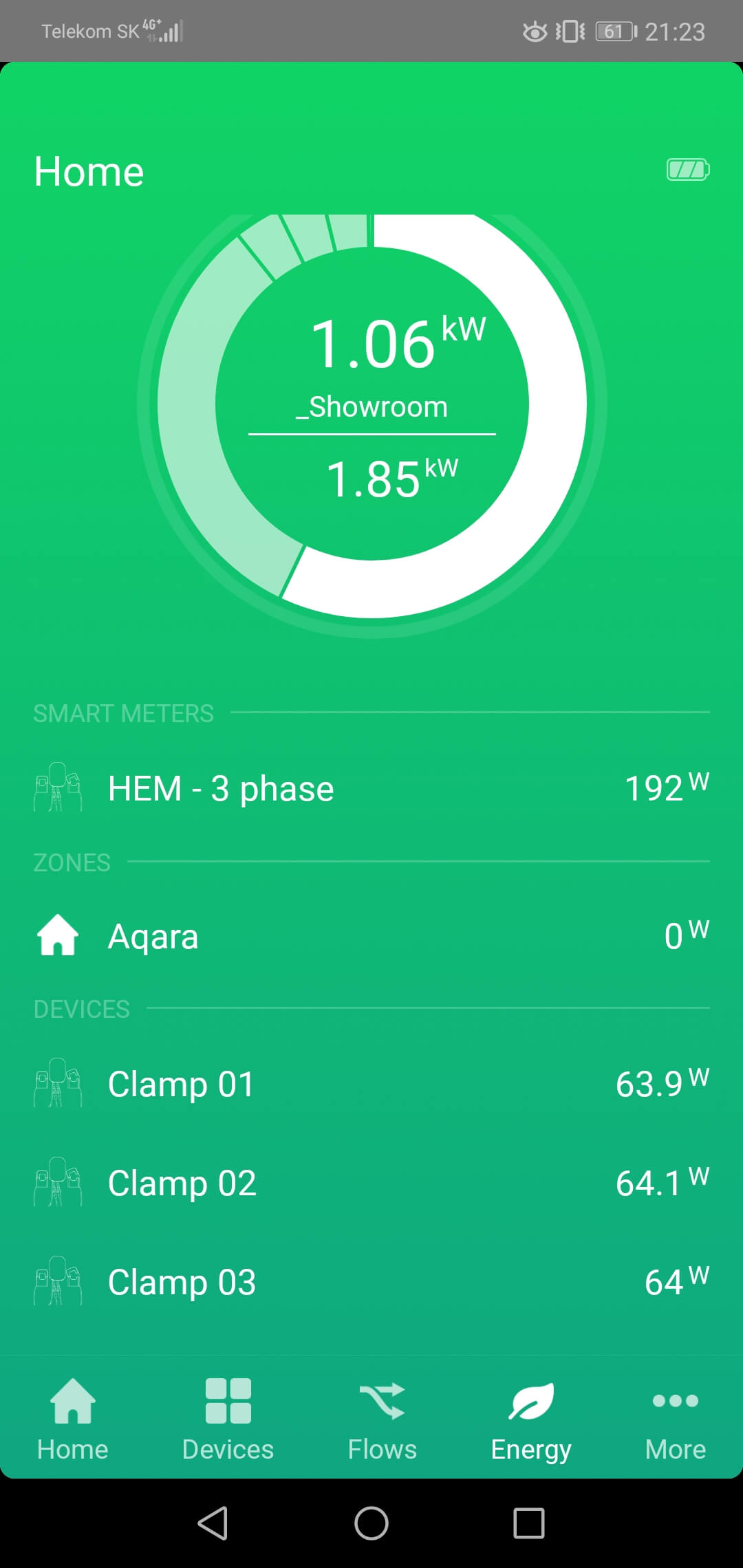 Homey CLI AEOTEC alternative app