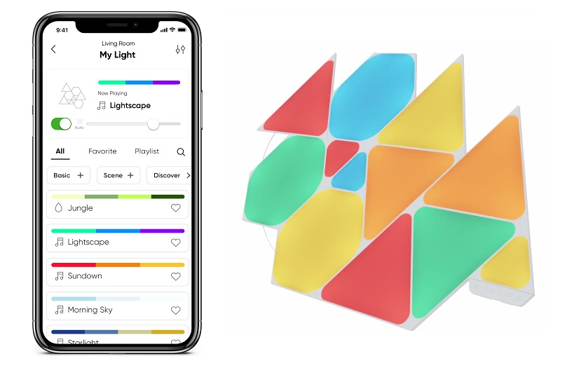 Nanoleaf Shapes Triangle Starter Kit