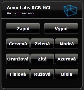 Fibaro HC2 Aeon Labs LED žiarovka