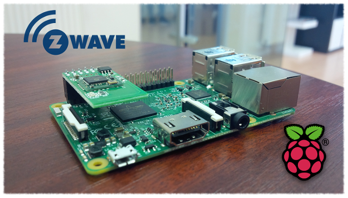 raspberry pi 3 Z-Wave