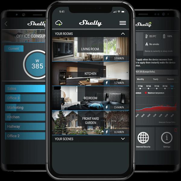 Shelly 1 app