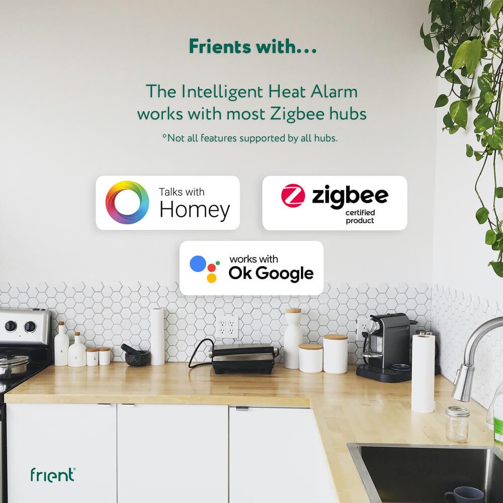 frient Intelligent Heat Alarm