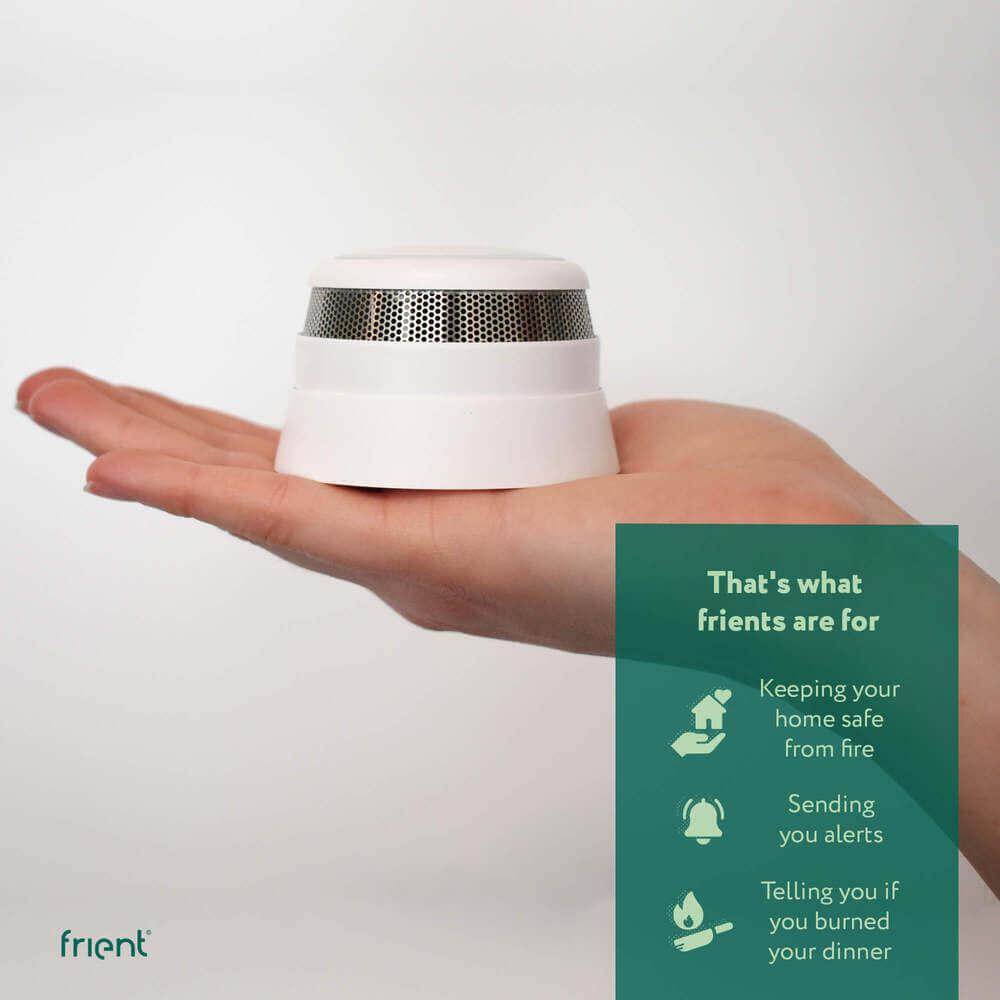 frient Intelligent Smoke Alarm