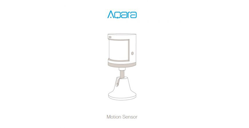 Aqara Motion Sensor quick start guide