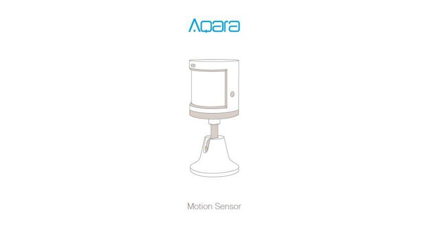 Aqara Motion Sensor první spuštění