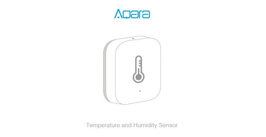 Aqara Temperature and Humidity Sensor prvé spustenie