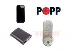 Popp Hub unlock lock wirelessly