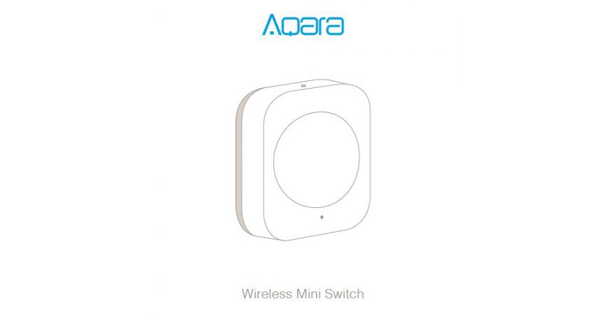 Aqara Wireless Mini Switch prvé spustenie