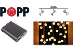 Ako vytvoriť svetelnú scénu POPP Hub?