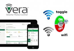 How to switch off Wi-Fi in Vera Edge.