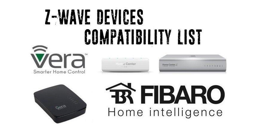 Zoznam Z-Wave Kompatibilných zariadení
