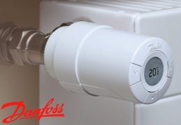 Adapters for Danfoss thermostatic head