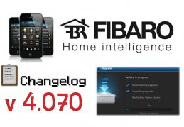 FIBARO HC2 V 4.070 CHANGELOG