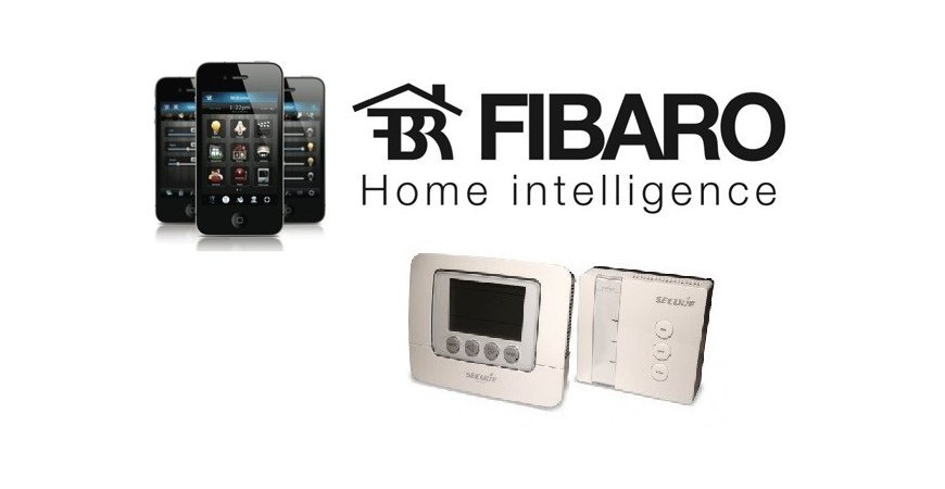 SECURE 7 DAY PROGRAMMABLE THERMOSTAT SET Integration into Fibaro System