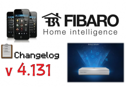 FIBARO HC2 V 4.131 BETA CHANGELOG