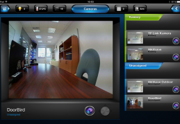 Integration of IP cameras into the Fibaro interface