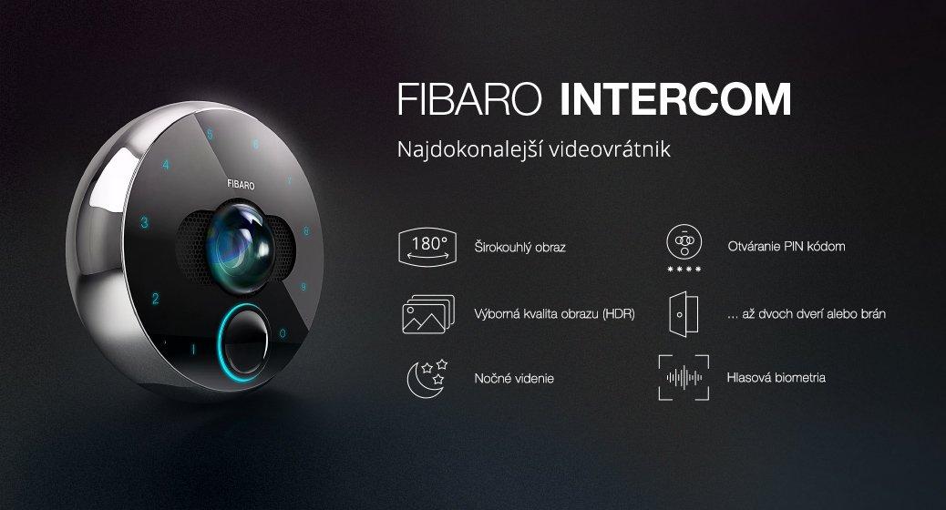 Fibaro Intercom - Nejdokonalejší videovrátný