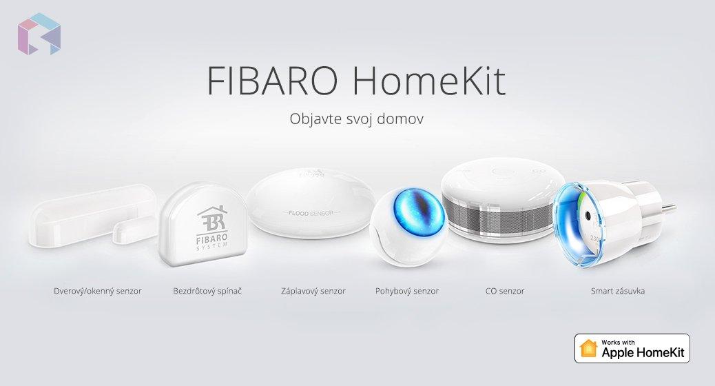 Fibaro zařízení pro Apple HomeKit