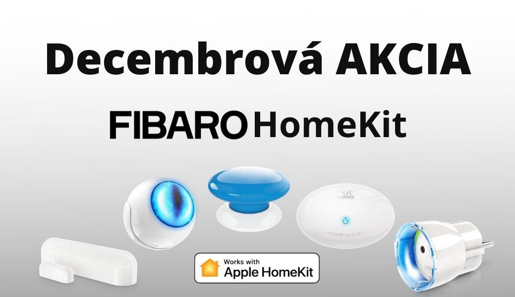 Prosincová akce na FIBARO HomeKit