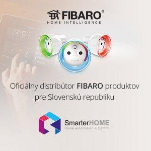 Jsme oficiální distributor značky FIBARO pro Slovensko