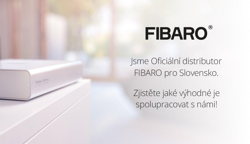 SmarterHOME je oficiální distributor FIBARO pro Slovensko