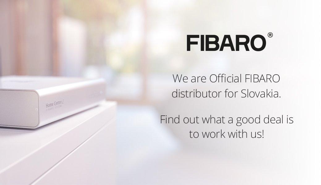 SmarterHOME is the official distributor of FIBARO for Slovakia