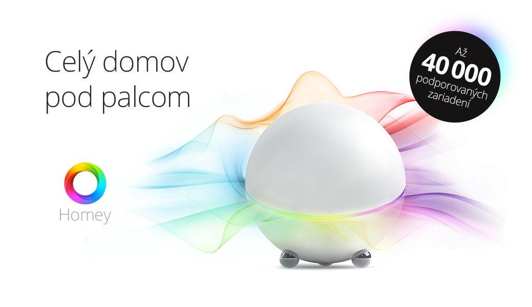 Athom Homey - univerzálny hub pre inteligentný dom