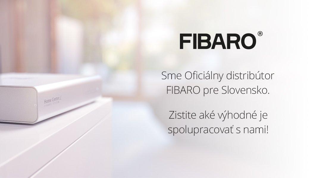 SmarterHOME oficiálny distribútor FIBARO pre Slovensko