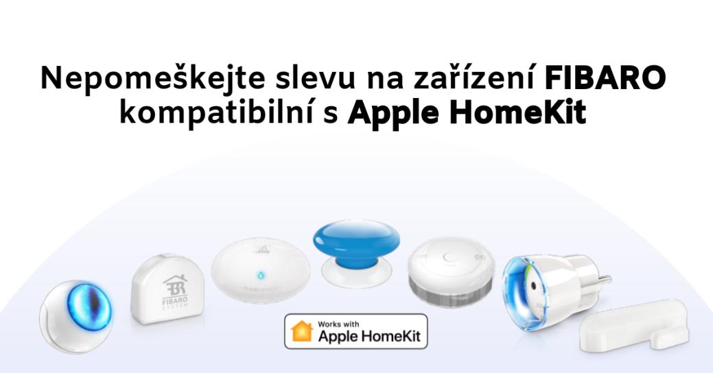 Prodejní akce na FIBARO HomeKit produkty