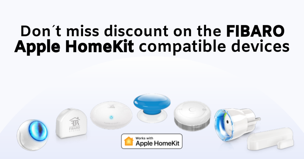 Sales promotion for FIBARO HomeKit products