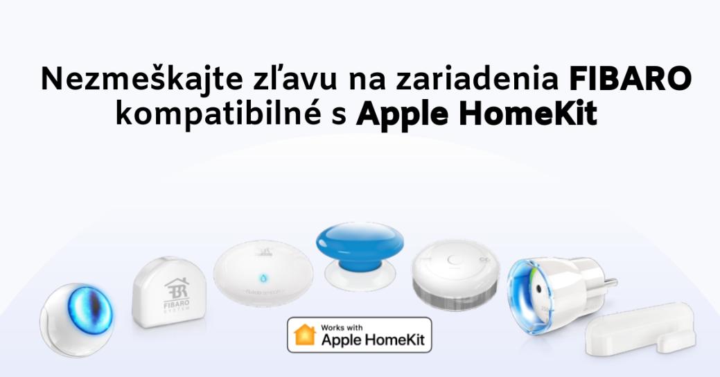 Predajná akcia na FIBARO HomeKit produkty