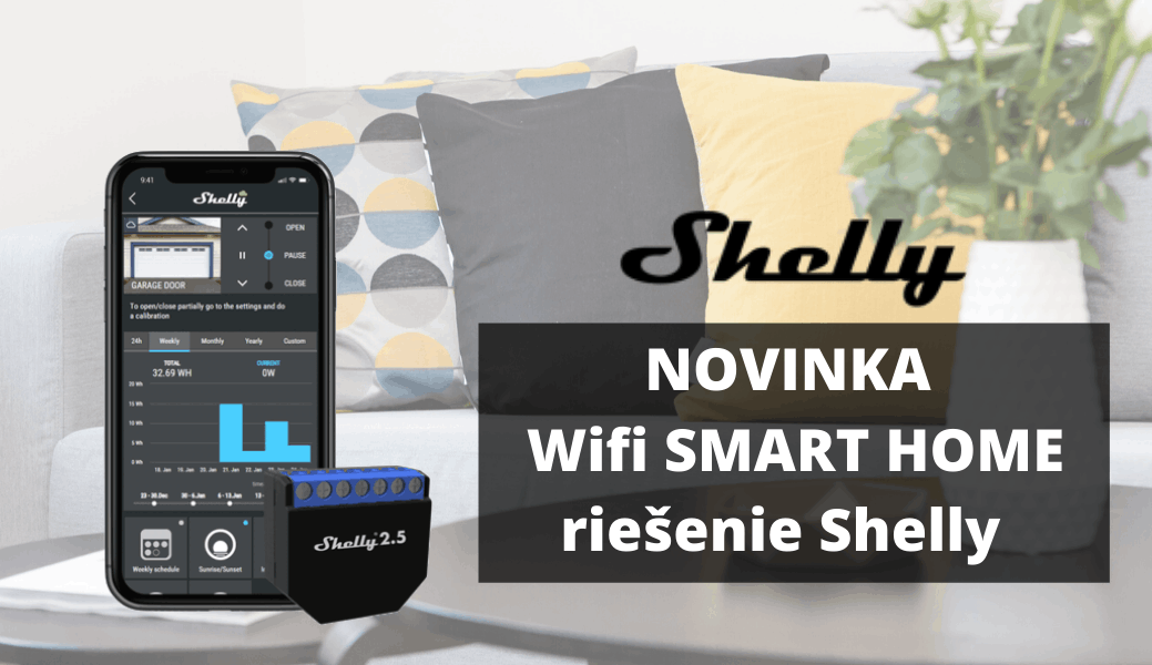 Shelly - WiFi products for your smart home